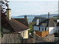SX9474 : Rooftops and sea view, Ferndale Road by Robin Stott