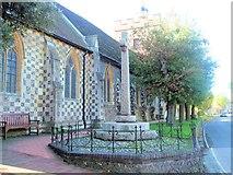 TQ4109 : Southover Church by Paul Gillett