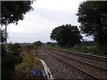 TM3863 : Railway junction at Saxmundham Junction by Geographer