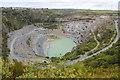 SX0783 : Delabole Slate Quarry by Bill Harrison