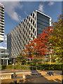 SJ8097 : MediaCityUK, The Orange Tower by David Dixon