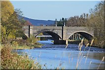 NT2540 : Two Tweed bridges, Peebles by Jim Barton