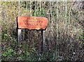 NT2540 : Community Woodland sign on Ven Law by Jim Barton