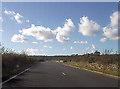 SH3936 : A497 east of entrance to Penbryn Neuadd by John Firth
