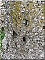 NJ6958 : Staircase, Eden Castle by Richard Webb