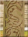 NY4348 : Detail from the cross, St Mary's Wreay by Oliver Dixon