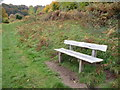 SO2811 : Bench on the path near the Punchbowl on the Blorenge by Jeremy Bolwell