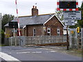 TM3975 : Gate House at Bramfield Level Crossing by Adrian Cable