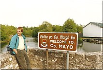 M1455 : Welcome to County Mayo by Richard Croft