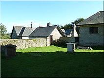 ST5707 : Melbury Osmond Churchyard (4) by Basher Eyre
