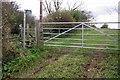 SP7238 : Path to Lodge Farm by Philip Jeffrey
