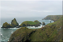 SW6813 : Kynanace Cove and offshore islands by Stuart Logan