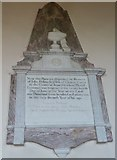 ST5707 : Melbury Osmond Church: memorial (h) by Basher Eyre