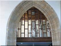ST5707 : Inside Melbury Osmond Church  (II) by Basher Eyre