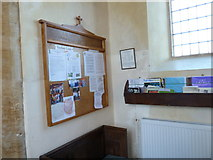 ST5707 : Inside Melbury Osmond Church  (IV) by Basher Eyre