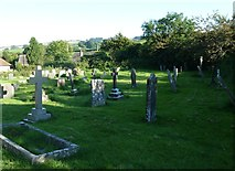SY5697 : SS Andrew & Peter, Toller Porcorum: churchyard (1) by Basher Eyre