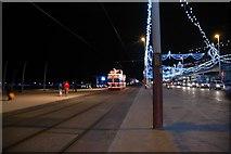 SD3036 : Tramways - Blackpool Promenade by Anthony Parkes