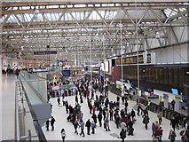 TQ3179 : Waterloo Station Concourse by Alan Heardman