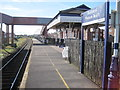 SD3032 : Blackpool Pleasure Beach railway station by Nigel Thompson
