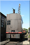 SU5290 : Didcot Railway Centre - steam crane by Chris Allen