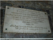 SY5697 : SS Andrew & Peter, Toller Porcorum: memorial (i) by Basher Eyre