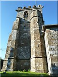 SY5697 : SS Andrew & Peter, Toller Porcorum: tower (2) by Basher Eyre