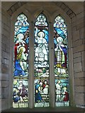 SY5697 : SS Andrew & Peter, Toller Porcorum: stained glass window  (c) by Basher Eyre