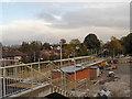 SJ8590 : Metrolink Construction Site, East Didsbury by David Dixon