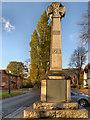 SJ8690 : The War Memorial, Heaton Mersey by David Dixon