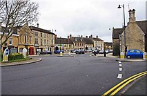 TF1309 : Looking towards the High Street, Market Deeping by P L Chadwick