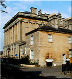 ST7465 : Eastern end of Royal Crescent, Bath by Jaggery