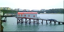 SN1300 : Old lifeboat station, Tenby by Gordon Hatton