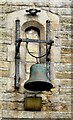 SJ9799 : Old school bell by Gerald England