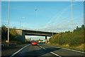SU6404 : M275 bridge over M27 by Robin Webster
