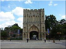 TL8564 : Abbey Gate, Bury St. Edmunds by Richard Cooke