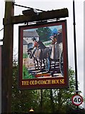 TF1309 : The Old Coach House (2) - sign, Bridge Foot, Market Deeping by P L Chadwick