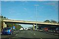 SU4811 : M27 - St John's Road bridge by Robin Webster