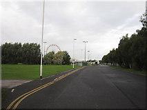 TA0729 : Looking towards Walton Street Fairground by Ian S