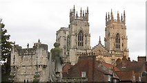 SE6052 : York Minster by Dave Pickersgill
