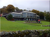 NN9357 : Pitlochry Festival Theatre by Andrew Abbott