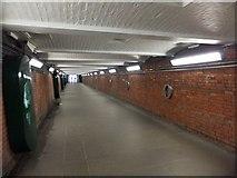 SU1484 : Pedestrian tunnel under railway main line by David Smith