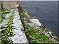 NA7246 : Flannan Isles: looking down on the landing stage by Chris Downer