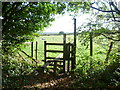 TQ5258 : Footpath on the outskirts of Otford by Marathon
