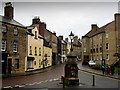 NU1813 : Junction of Narrowgate and Pottergate, Alnwick by Chris Heaton
