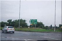 TQ0485 : A40, Denham Rd Roundabout by N Chadwick