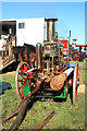 TL2236 : Stotfold Mill - steam fire engine  by Chris Allen