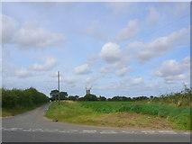 TF7632 : Bircham Windmill by Nigel Mykura