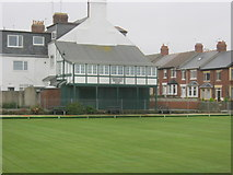 NZ3672 : Pavilion for Rockcliffe Bowling and Tennis Club in Whitley Bay by peter robinson