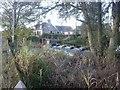 NJ7806 : Leadside weir by Stanley Howe