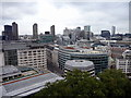 TQ3281 : View from St Paul's Cathedral, London, EC2 by Christine Matthews